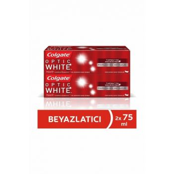 Optical White Shimmer Whitening Toothpaste 75ml x 2 Pcs 86934950375012