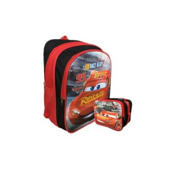 ŞİMŞEK MCQUEEN SCHOOL BAG SET HAKAN BAG LICENSED SMSKSET01