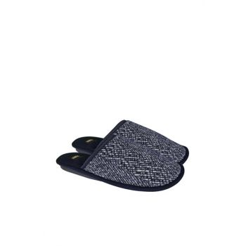 Navy Blue Men's Slipper L0402