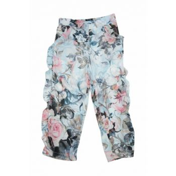 Blue Unisex Kids Trousers 91Z4EVS02