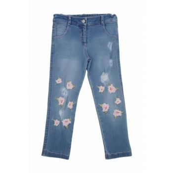Blue Unisex Children Trousers 91Z4FBL02