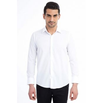 Men's White Shirt - 65994