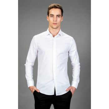 Men's White Shirt - SSF18012-01