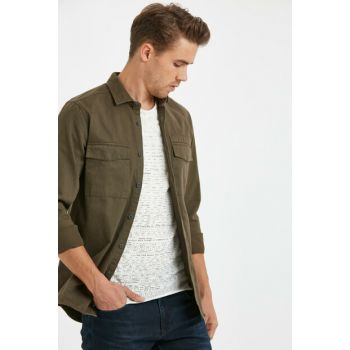 Men's Khaki Shirt 8W0862Z8