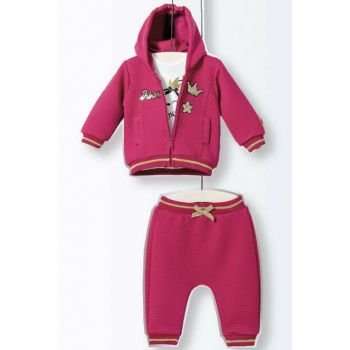 Wogi Baby Girls Bottom Top Cardigan Set 3-18 Months 5137 WG5137