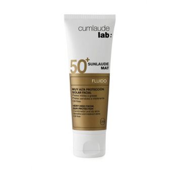 Sun Protection Lotion for Combination and Oily Skin - Sunlaude Spf 50+ Matte Fluid 50 ml 8428749245803