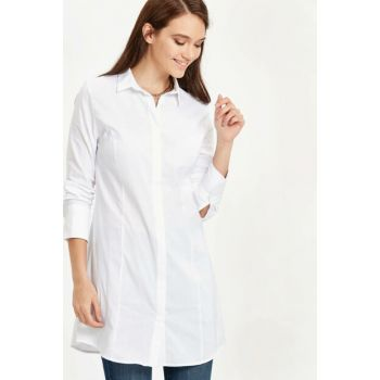 Women's White Tunic 8Wj321Z8 8WJ321Z8