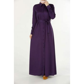 Women's Purple Violet Dress 2324