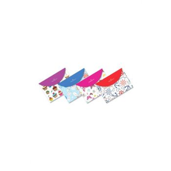 Faber-Castell A4 Snaps File Mixed Pattern 5075393400 (Pack of 12 Li) 1100.02420