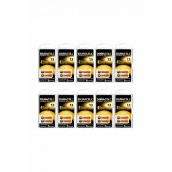 Number 13 Earphone Battery Pack of 6 (Pack of 10) 4043752174694-10