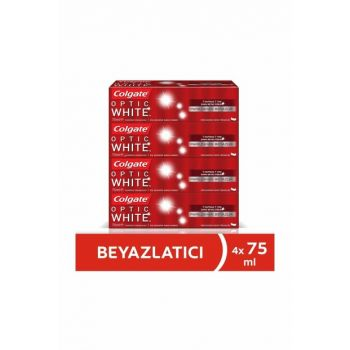 Optical White Shimmering Whitening Toothpaste 75ml x 4 Pcs 86934950375014