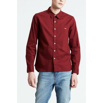 Men's LS Battery Housemark Shirt 74389-0008