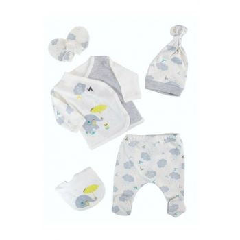 Gray Cloudy Baby Boy 5Li Hospital Outlet Gray AF5489G