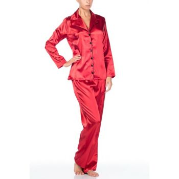 Satin Pajamas Set 001-018466