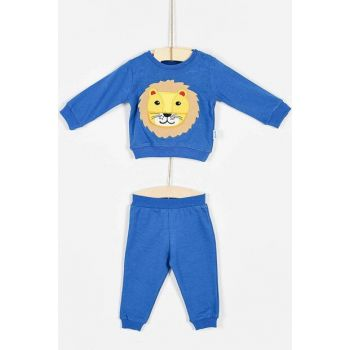 Buude Baby Boy Bottom Top Set With Lion 6-18 Months 6839 B6839