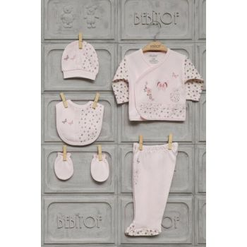 baby girl butterfly stone 5 li hospital exit set 820