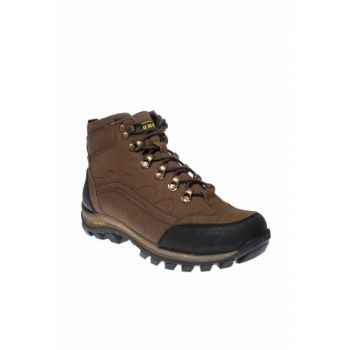 Genuine Leather Sand Color Kids Boots 190 14492G