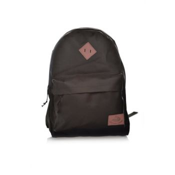 Black Unisex Backpack KMSSRT0011S