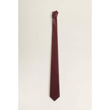 Men's Burgundy Satin Necktie 53050846