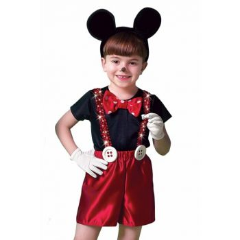 Mickey Mouse Red Male Costume ST00025