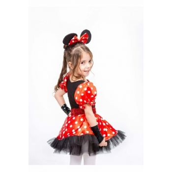 Minnie Mouse Red 12 Age Girl Costume ST00016-3