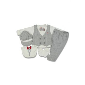 baby boy striped vest 6 piece suit 14696
