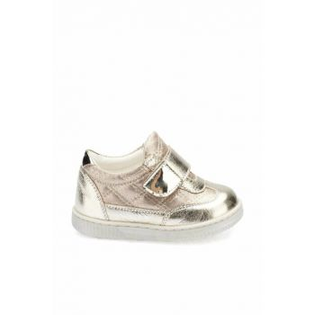 Gold Baby Girl Leather Boots 000000000100331165
