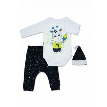 Ice Cream Giraffe White Baby Set K2720