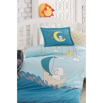 Baby Duvet Cover Set 100% Cotton | Elephant 153-99-001108
