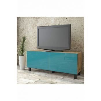 Aqua Tv Unit High Gloss 120cm 2 Cover Turquoise AU2-A1B-TT 1286500