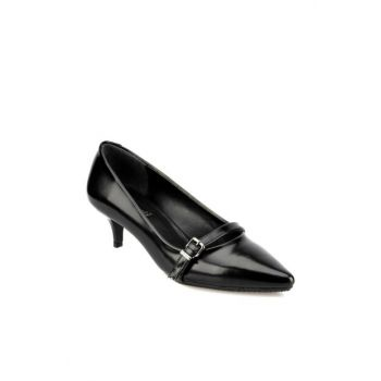 Women's Black Heeled Shoes 92.314056.Z