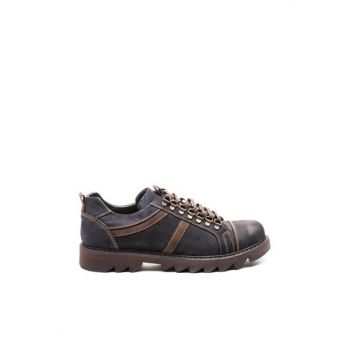 Black Nubuck Men's Shoes TR_BUL-18537