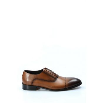 Genuine Leather Taba Men's Classic Shoes 1879346