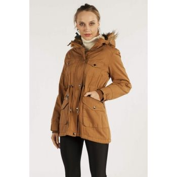 Women Taba Hooded Coat 9000T