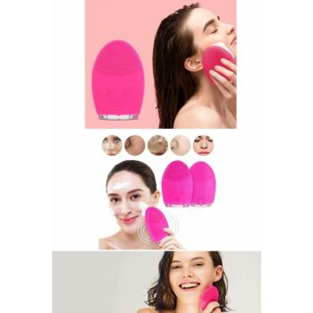 Silicone Rechargeable Facial Cleansing Brush T14967