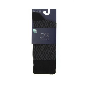 Men's Black Socks - Ds 604.003 DS 604.003