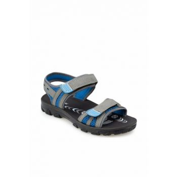 91.510358.G Gray Sandals for Boys 000000000100368736