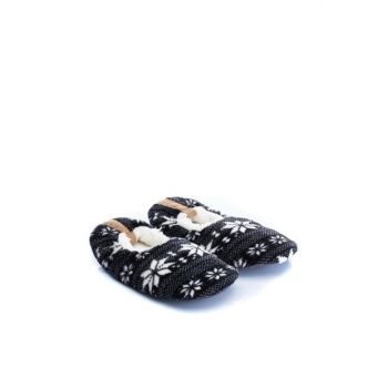 Navy Blue Men's Slippers MFTWGNN0630