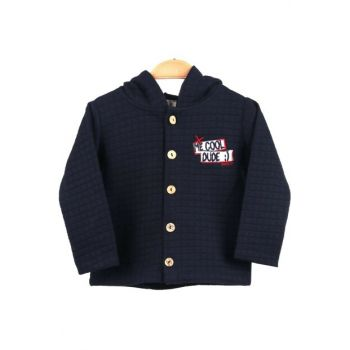 Navy Blue Children Cardigan 7180-34