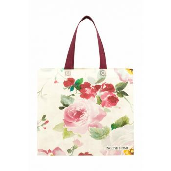 Cheering Rose Laminated Nonwoven Shopping Bag 39x35x12 Cm Color 10025165