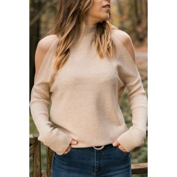 Women's Stone Turtleneck Pullover 9YXK3-41732-56