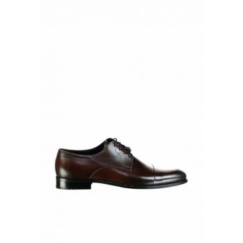 Genuine Leather Coffee Men Shoes 02AYH119590A480