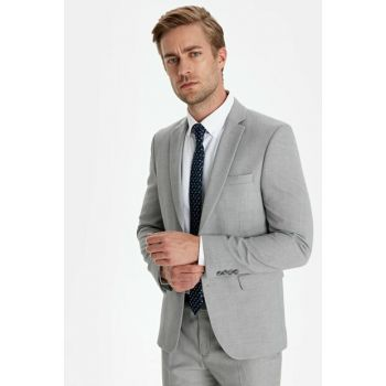 Men's Gray Jacket 9WL702Z8