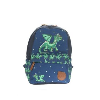 W80303-02 Green Dragon Children Backpack