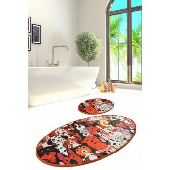 60x100 cm - 50x60 cm Set of Baths Djt 2 Li Bath Mat 8682125928630