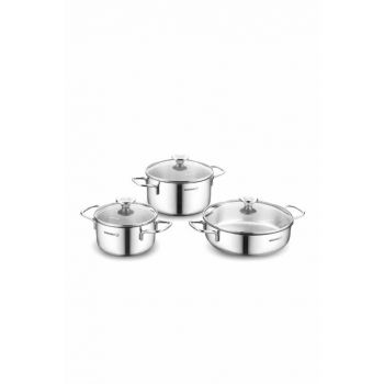 A1092 Korkmaz Alia 6 Pieces Cookware Set