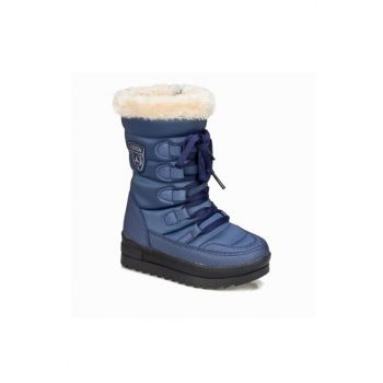Navy Blue Unisex Boots & Booties 1160437
