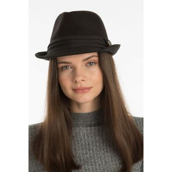 Women's Black Trilby 8124046