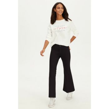 Women Black Trousers 9WH614Z8