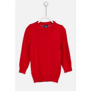 Red Men's Pullover 8W0184Z4